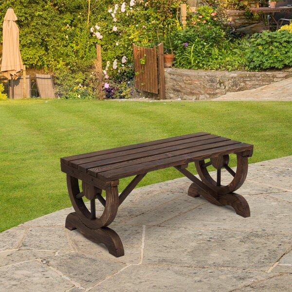 Lofton Outdoor Wooden Garden Bench