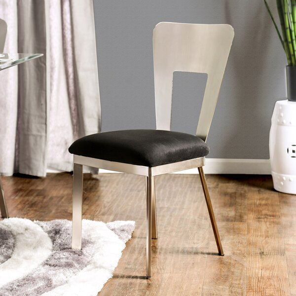 Beulah Upholstered Dining Chair (Set of 2) by Orren Ellis Orren Ellis