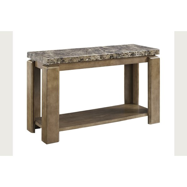 Fleur De Lis Living Console Tables With Storage