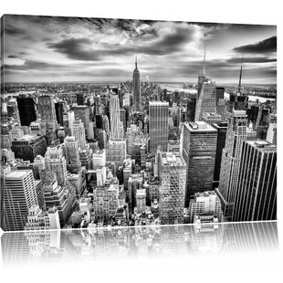 Captivating New York Skyline Wall Art On Canvas