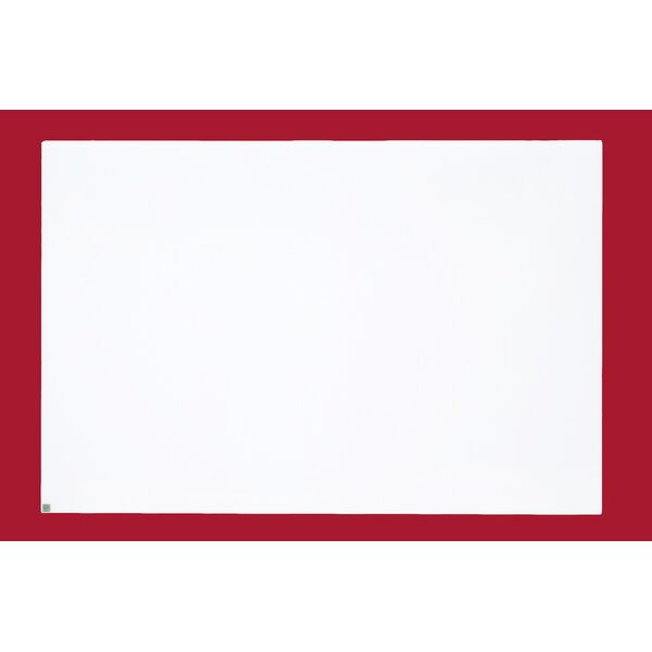 Aero Dry Erase Wall Mounted Glass Board by Egan Visual Inc.