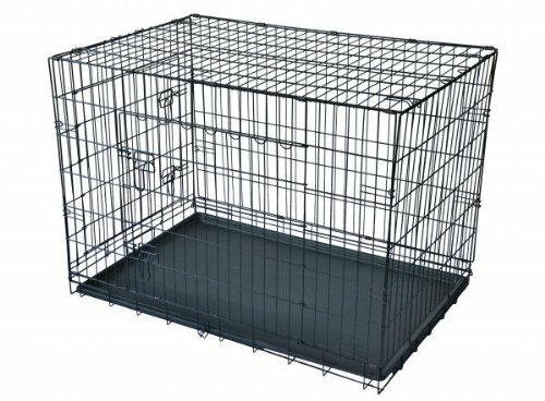 Mendez 2 Doors Folding Suitcase Pet Crate by Tucker Murphy Pet
