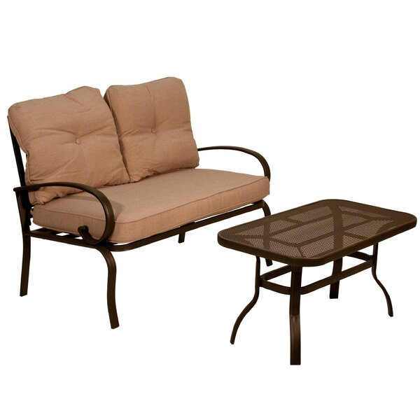 2 Piece Sofa Set with Cushions by Aura Outdoor Products