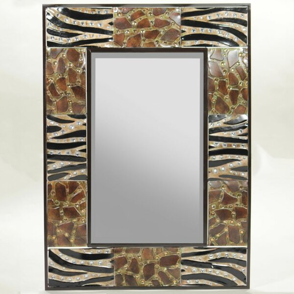 Bergland Appealing Animal Metal Accent Mirror by Bloomsbury Market
