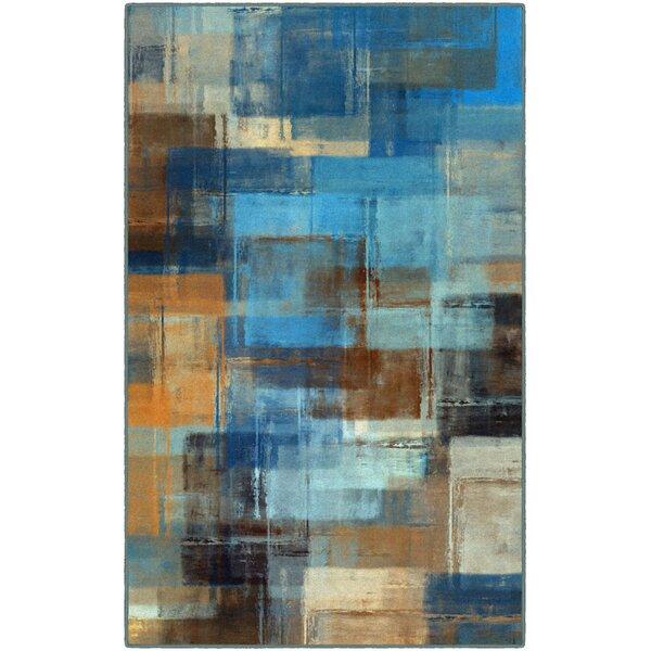 Cosentino Blue Area Rug by Ebern Designs