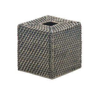 Best Reviews Cresthaven Square Tissue Box Cover ByHighland Dunes
