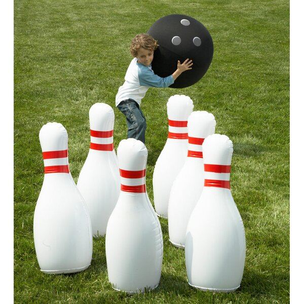 Giant Inflatable Outdoor Bowling Game by HearthSong