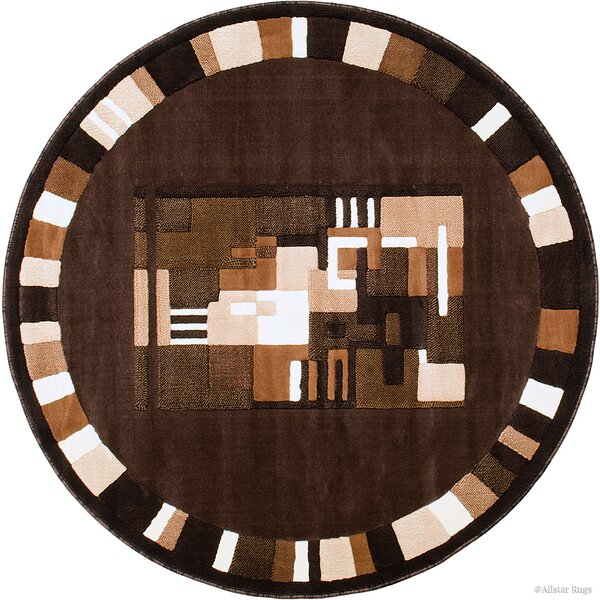 Kehoe Brown Area Rug by Latitude Run