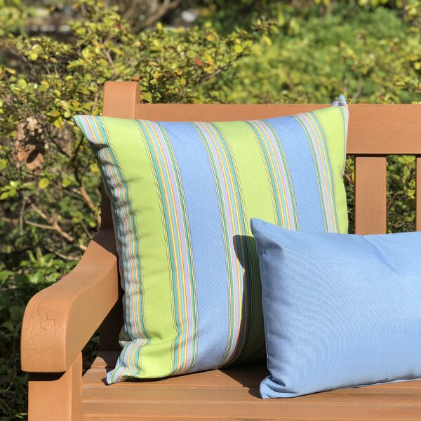 Osceola Limelite Outdoor Sunbrella Throw Pillow by Latitude Run