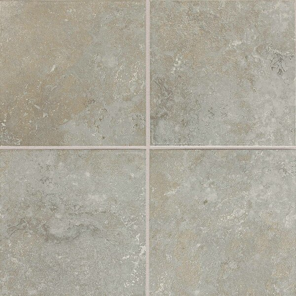 Huston 6 x 6 Ceramic Field Tile in Castillian Gray by Itona Tile