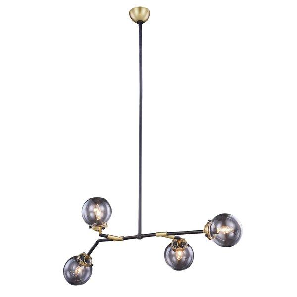Roman 4-Light Sputnik Chandelier by Corrigan Studio