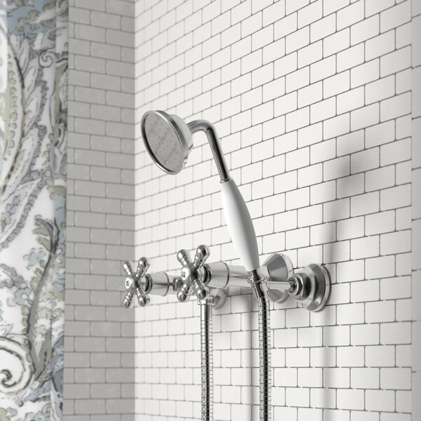 Isai Shower Mixer With Cross Handle By Charlton Home