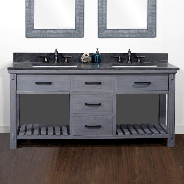 Broseley 72 Rustic Double Batroom Vanity