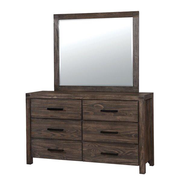 Wyndham 6 Drawer Double Dresser by Union Rustic