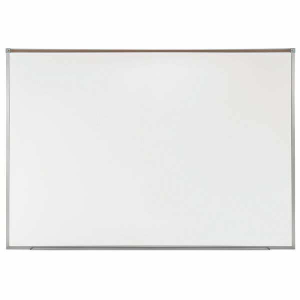 Ghent Proma Magnetic Porcelain Projection Whiteboard with Aluminum Frame by Ghent