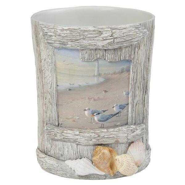 At the Beach Waste Basket by Creative Bath