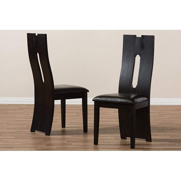 Crewkerne Upholstered Dining Chair (Set of 2) by Orren Ellis