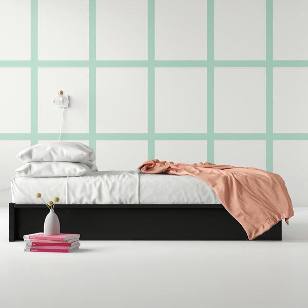 Upside Upholstered Platform Bed by Hashtag Home