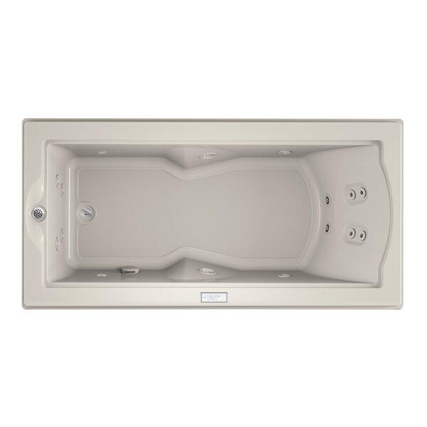 Fuzion Chroma Left-Hand 72 x 36 Drop-In Whirlpool Bathtub by Jacuzzi®