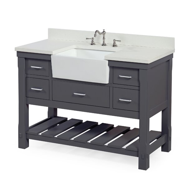 Charlotte 48 Single Bathroom Vanity Set by Kitchen Bath Collection