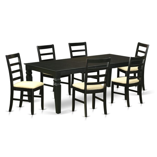 Muldoon 7 Piece Dining Set by Red Barrel Studio