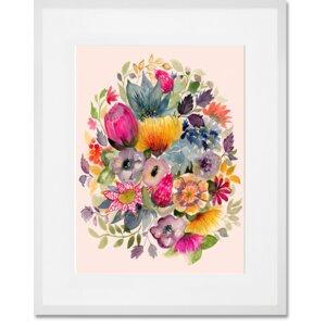 'Succulent Bouquet III' Graphic Art Print by GreenBox Art