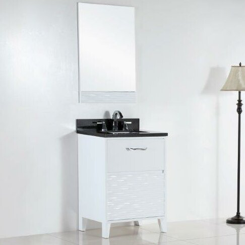 24.5 Single Sink Bathroom Vanity Set by Bellaterra Home