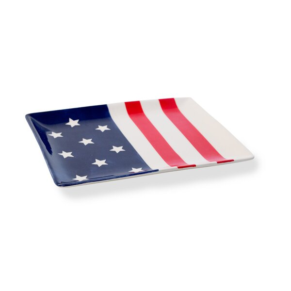 Durazo Stars and Stripes Platter by The Holiday Aisle
