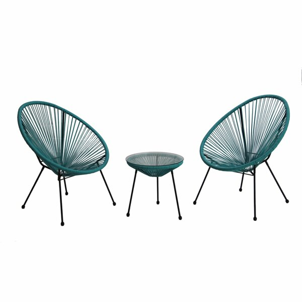 Morristown Patio Chair (Set of 2) by Ivy Bronx Ivy Bronx