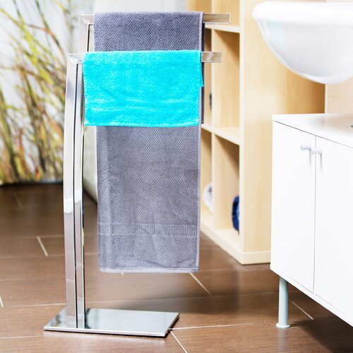 Krebs Freestanding Towel Rack Mercury Row