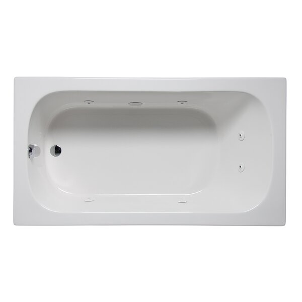 Miro 60 x 30 Drop in Whirlpool Bathtub by Americh