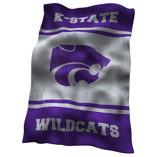 Kansas State Ultra Soft Throw by Logo Brands