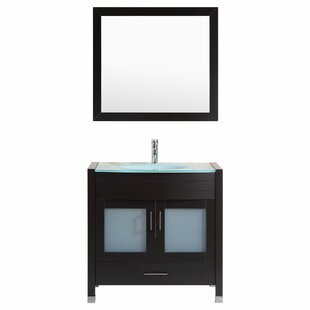 Check Prices Peterman Modern 36 Single Bathroom Vanity Set with Mirror By Orren Ellis