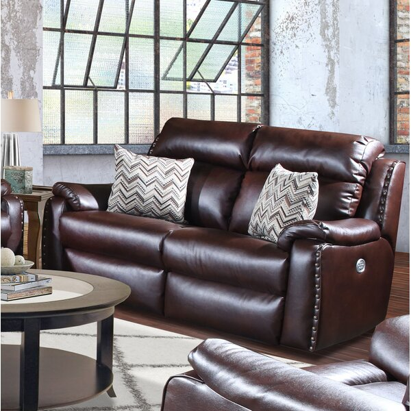 Beautiful Ribbon Reclining Loveseat by Southern Motion by Southern Motion