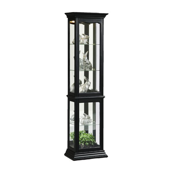 Boatwright Lighted Curio Cabinet By Charlton Home