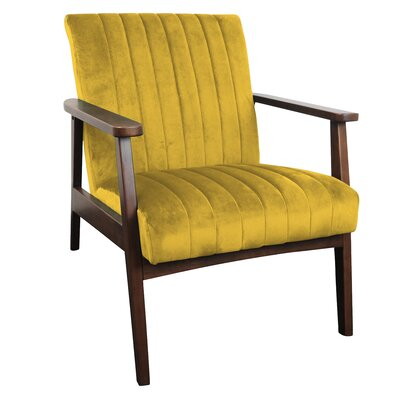 Yellow Armchairs You'll Love | Wayfair.co.uk
