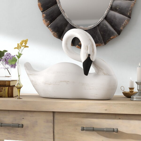 Nayak Swan Figurine by August Grove