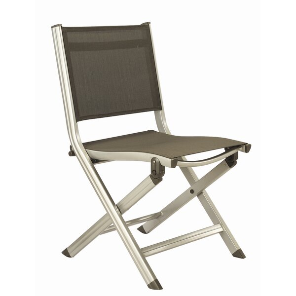 Basic Plus Folding Patio Dining Chair by Kettler USA
