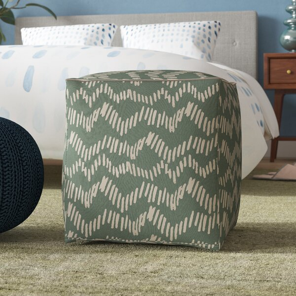 Lessing Pouf by Ebern Designs