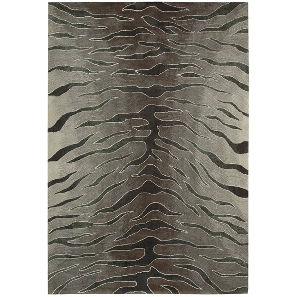 Dovewood Hand-Tufted Animal Print Area Rug by Bloomsbury Market