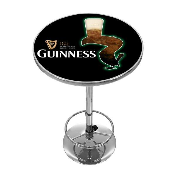 Guinness Feathering Pub Table by Trademark Global