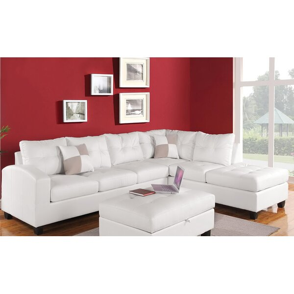Lach Right Hand Facing Modular Sectional By Winston Porter