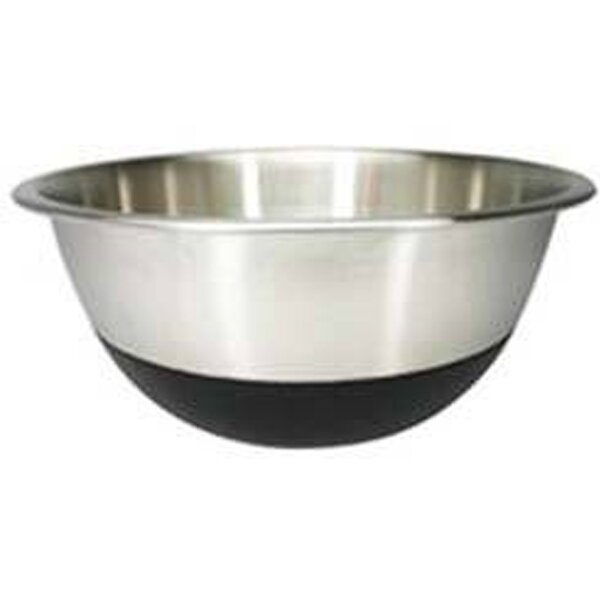Stainless Steel Mixing Bowl with Non-Skid Silicone Bottom by Amco Houseworks