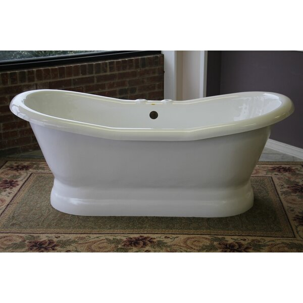 Empress 68 x 30 Freestanding Bathtub by Restoria Bathtub Company