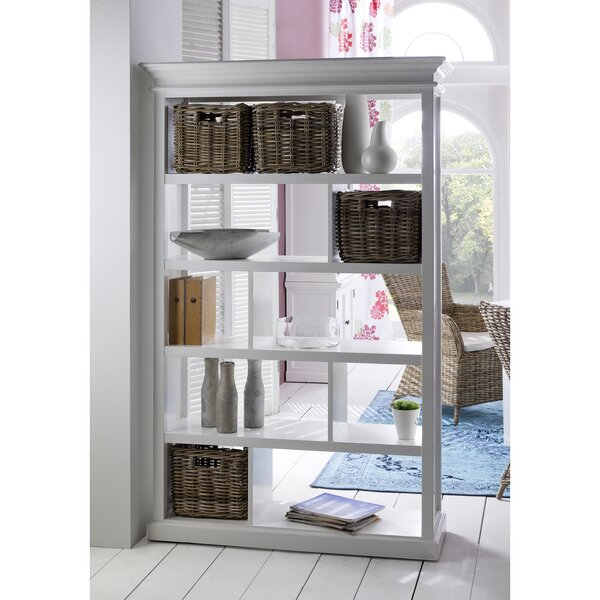 Fairmead Geometric Bookcase By Breakwater Bay