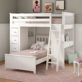 Ayres Twin Platform Bed with Drawers and Shelves by Harriet Bee