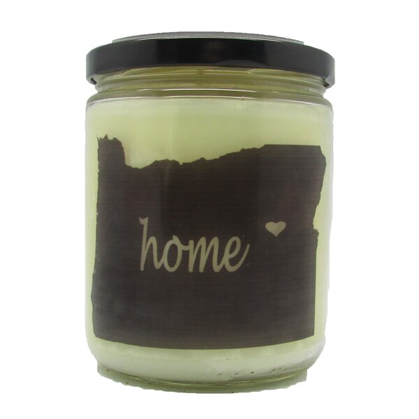 Oregan Honey and Wildflowers Scented Jar Candle by Gracie Oaks