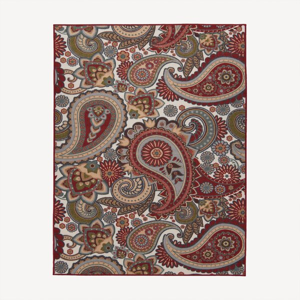 Sweet Home Paisley Cream Area Rug by sweet home stores