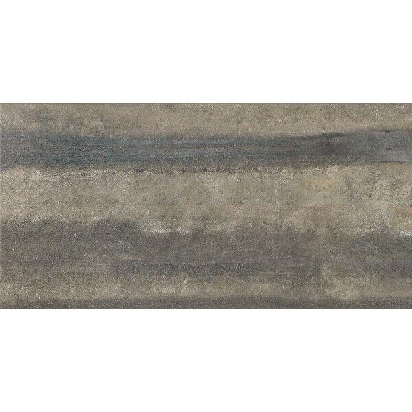 Enrichment 6 x 24 Porcelain Field Tile in Gray by Parvatile
