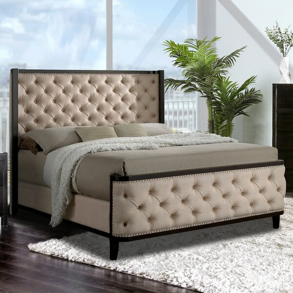 Francisco Upholstered Standard Bed by One Allium Way
